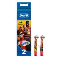 Oral B Incredibles 2 Brossette kids Blister/2 à JOUE-LES-TOURS