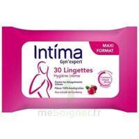 Intima Gyn'Expert Lingettes Cranberry Paquet/30 à JOUE-LES-TOURS
