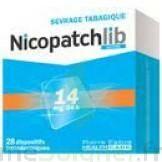 NICOPATCHLIB 14 mg/24 h Dispositifs transdermiques B/7 à JOUE-LES-TOURS