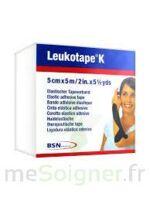 LEUKOTAPE K Sparadrap noir 5cmx5m à JOUE-LES-TOURS