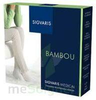 Sigvaris Bambou 2 Chaussette femme noir N large à JOUE-LES-TOURS