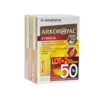 Arkoroyal Dynergie Ginseng Gelée royale Propolis Solution buvable 2B/20 Ampoules/10ml à JOUE-LES-TOURS