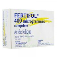 FERTIFOL 400 µg Cpr Plq/90 à JOUE-LES-TOURS