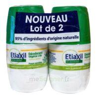 Etiaxil Végétal Déodorant 24h 2roll-on/50ml à JOUE-LES-TOURS