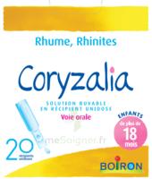 Boiron Coryzalia Solution buvable unidose B/20 à JOUE-LES-TOURS