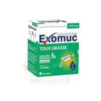 EXOMUC 200 mg glé usage oral en sachet 15 Sachets/2g à JOUE-LES-TOURS