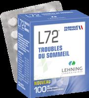 Lehning L72 Comprimés Orodispersibles Plq Pvc/pvdc/alu/100 à JOUE-LES-TOURS