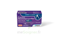 FRACTION FLAVONOIQUE MYLAN PHARMA 500MG, comprimés