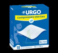 Urgo Compresse Stérile Non Tissée 10x10cm 10 Sachets/2 à JOUE-LES-TOURS